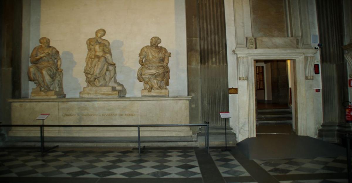 Fabocdue - Installazione alle Cappelle Medicee a Firenze