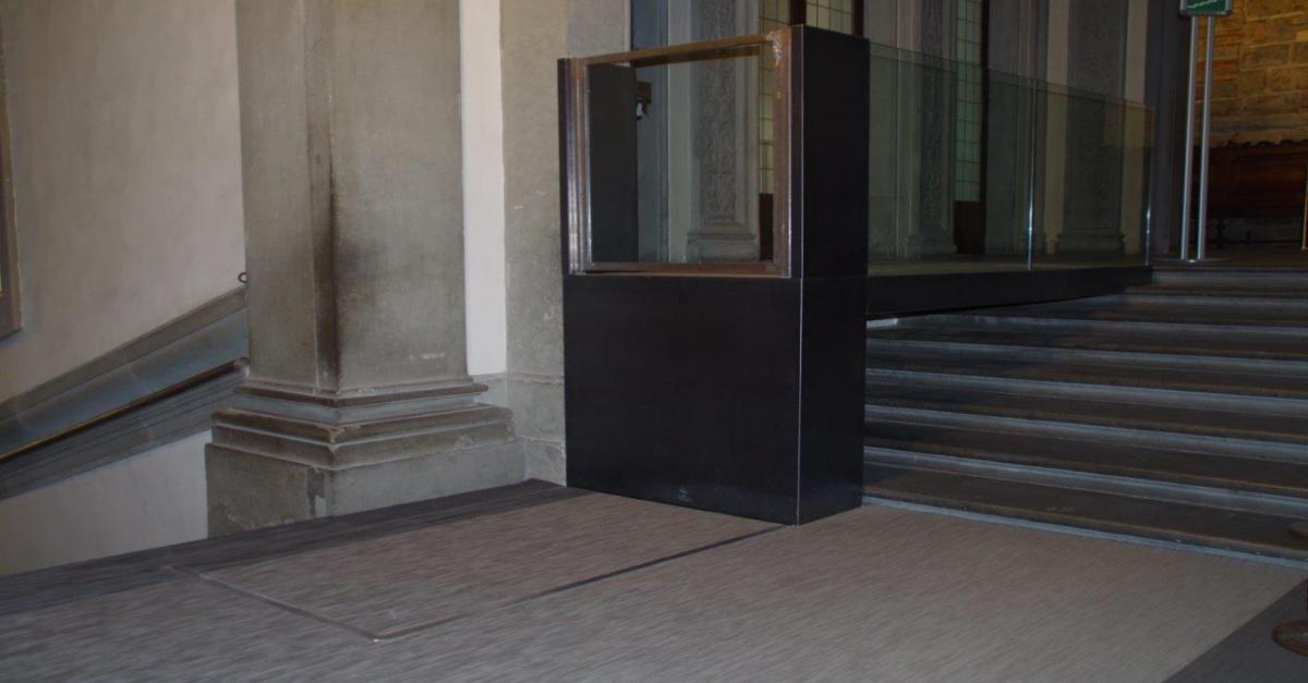 Fabocdue - Installazione in Palazzo Vecchio alla Sala dei 200